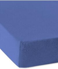 bpc living Drap-housse Jersey 40 cm bleu maison - bonprix