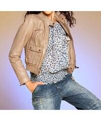 Apart APART kožená bunda pro plnoštíhlé