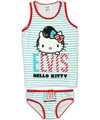 E plus M Dívčí set tílka a kalhotek Hello Kitty