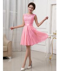 Růžové šaty pro družičky z obchodu Trendy-Obleceni.cz  49141e99235