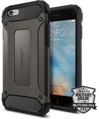 Pouzdro / kryt pro Apple iPhone 6 / 6S - Spigen, Tough Armor Tech Gunmetal