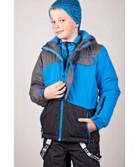 SAM 73 Chlapecká zimní bunda se SKI pásem BB 49 220 - modrá jasná