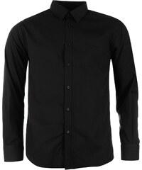 Košile s dlouhým rukávem Pierre Cardin pán. černá