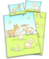 Herding Dětské oboustranné povlečení - Farma, 100x135 cm