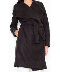 Kabát FIGL, dámský plášť S černá