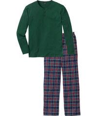 bpc bonprix collection Pyjama langarm in grün für Herren von bonprix