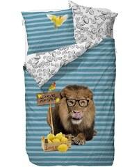 Kinderbettwäsche, Covers & Co, »Lemon Lion«, mit Löwen-Motiv