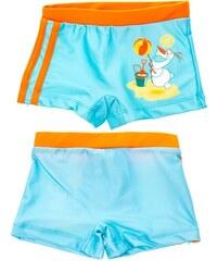 Disney Chlapecké nohavičkové plavky Frozen - Olaf - tyrkysové