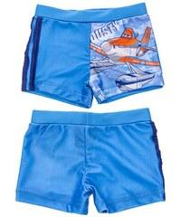 Disney Brand Chlapecké nohavičkové plavky Letadla - modré