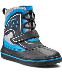 Sněhule CROCS - Allcast Waterproof Boot Gs 15809 Black/Ocean
