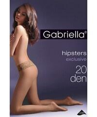 Dámské punčocháče Gabriella Hipsters exclusive 20 den Code 630, béžová