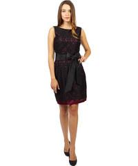 Sangria krajkové šaty s mašlí