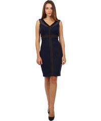 Sangria tmavě modré šaty