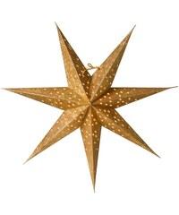 watt & VEKE Závěsná hvězda Donna slim Gold 60 cm