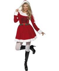 Kostým Miss Santa Velikost L 44-46