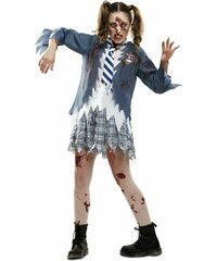 Kostým Zombie školačka Velikost M/L 42-44