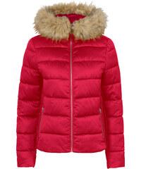 BODYFLIRT Stepp-Jacke mit Kapuze langarm in rot für Damen von bonprix