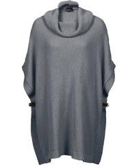 BODYFLIRT boutique Oversize Strickpullover in grau für Damen von bonprix