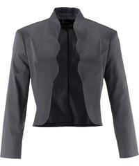 bpc selection Bolero-Jacke 3/4 Arm in grau für Damen von bonprix