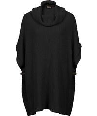 BODYFLIRT boutique Oversize Strickpullover in schwarz für Damen von bonprix