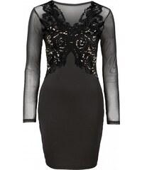 BODYFLIRT boutique Šaty s krajkovou aplikací bonprix