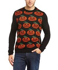 Run & Fly Unisex Pullover Halloween Happy Pumpkin