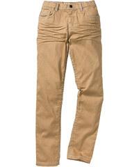 John Baner JEANSWEAR Pantalon slim fit avec effets froissés, XXL marron enfant - bonprix