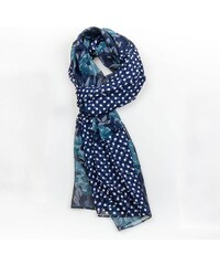 Šála Floral Blue
