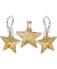Set s kameny Swarovski STAR SET GOLDEN SHADOW