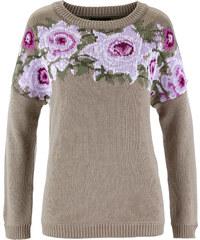 bpc selection Pullover in braun (Rundhals) für Damen von bonprix