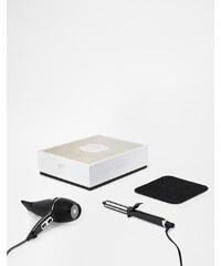 ghd - Arctic Gold Dry Deluxe & Curl Tong - Coffret cadeau sèche-cheveux et fer à boucler - Clair