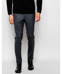 Noak - Pantalon super skinny à revers contrastants - Gris