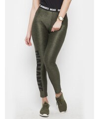 Diamante Chicks Diamante Leggings Dark Khaki