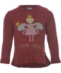 Star 3D Christmas Jumper Infant Girls Cream - Angel