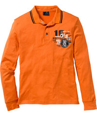 bpc selection Polo manches longues Regular Fit orange homme - bonprix
