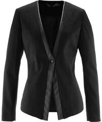 bpc selection Blazer extensible noir manches longues femme - bonprix