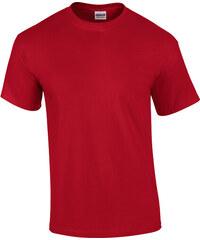 Tričko Gildan Ultra - Sytě červená S