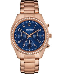 Caravelle New York Boyfriend Chronograph Damenuhr 44L196