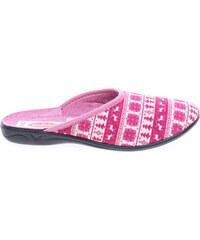 Rejnok Dovoz Rogallo domácí pantofle 19248 růžové