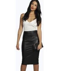 BOOHOO Černá sukně Serena