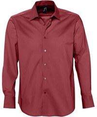 Košile Brighton - Vínově červená S