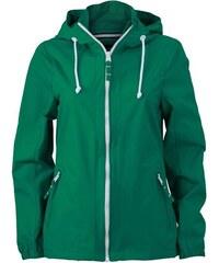 Nepromokavá bunda Sailing - Irská zelená S