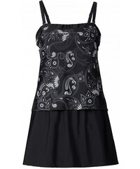 bpc selection Plavkové šaty v tankiny vzhledu bonprix