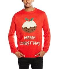 The Christmas Workshop Unisex Pullover Weihnachten Christmas Pudding Jumper