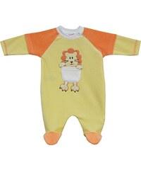 Schnizler Unisex Baby Schlafstrampler Nicki, Schlafanzug, Leo
