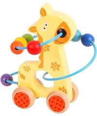 Bigjigs Labyrint na kolečkách - žirafa
