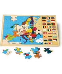 Small foot Vkládací puzzle - Evropské státy