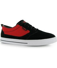 Skate boty No Fear Spine pán. černá/červená