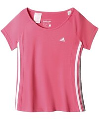 Adidas Dívčí tričko, růžové