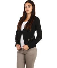 TopMode Krásné sako bez zapínání černá